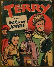 Terry and War in the Jungle by Milton Caniff-Vintage Better LIttle Book-1946