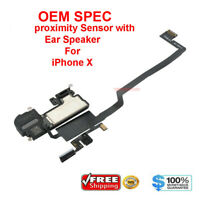 OEM SPEC Proximity Sensor Ear Speaker Mic Flex Cable For iPhone X A1865 A1901 US