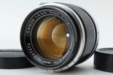 [Vintage Exc+++++] Canon 50mm f/1.8 Leica Screw LTM L39 MF Lens From Japan #322