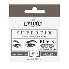 Eylure Superfix BLACK Individual Eyelash Glue 6ml Lash Extension Adhesive