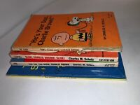 LOT 4 Charlie Brown PB; You Are Too Much Charlie Brown! Charles Schulz Crest