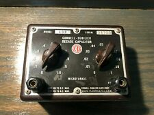 Cornell Dubilier Decade Capacitor CDB3 Substitution Box