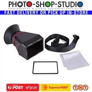 A*Kamerar  MV4:3 LCD Viewfinder MagView V43 (4:3)for Canon Nikon Panasonic Sony