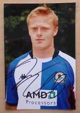 Blackburn Rovers Hand Signed 6x4 Photos £3 Each inc. Cole, Duff, Friedel +++