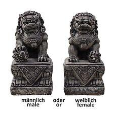 Chien FU, FOO lion chinois Thailande Statue Feng-Shui, Déco extérieure (10832)