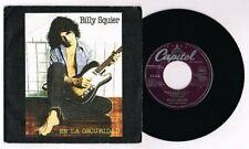 """BILLY SQUIER """"EN LA OSCURIDAD"""" SPANISH  7"""" PROMO VERY RARE"""