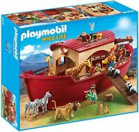 Playmobil 9373 Wild Life Floating Noah's Ark with Functioning Crane