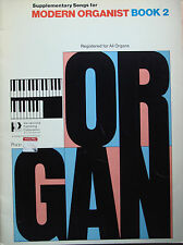 Supplementary Songs for Modern Organist Book 2 Hal Leonard Organ B43