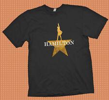 Hamilton An American Musical  Broadway Tour logo  Black t shirt  S -  3XL
