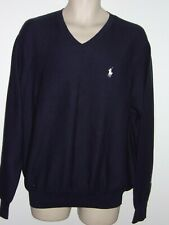 Polo Golf Ralph Lauren V-Neck Sweater 100% Cotton Size - Xl