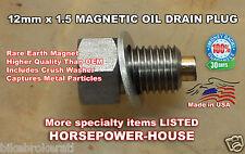 12mm MAGNETIC OIL DRAIN PLUG BOLT HONDA XR500R CR80R XL250R XR200R XR250R ATC250