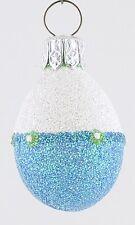 Patricia Breen Mini Egg - Blue/White