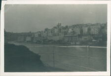 Photograph Malta 1953 Valletta Harbour And Town 3.25 x 2.25 inch