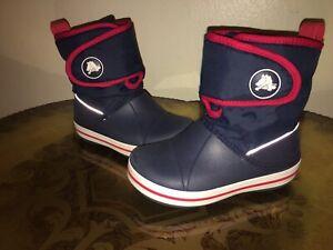 Children's Cros Crocband Gust Winter Boots (Size US 11C)
