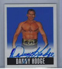 DANNY HODGE 2017 LEAF ORIGINALS WRESTLING 2014 ALTERNATE ART ON CARD AUTO /10