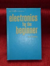 Vintage 1971 Electronics for the Beginner J.A. Stanley Hardcover Book Science