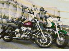 Carte postale MOTO MOTOCYCLETTE HARLEY DAVIDSON custom riders
