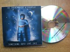 THE CHAINSMOKERS & COLDPLAY - Something just like this (**UK PROMO 1 TRK CD**)