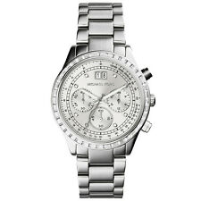 NEW MICHAEL KORS MK6186 BRINKLEY CHRONOGRAPH WATCH - 2 YEAR WARRANTY