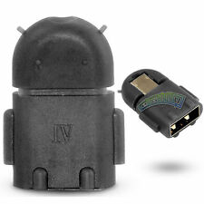Mini Robot Hub Coupler Micro USB Host OTG Adapter for Android Samsung S3 S4 New