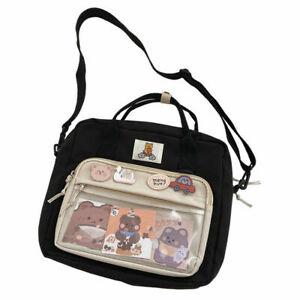 Itabag Transparent Backpack Japanese Shoulder Bag Satchel Cute Doll Bag Handbag