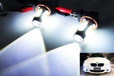 Pair H11 H8 Q5 4 Plasma LED Projector Fog Driving Light 6000k For BMW High Power