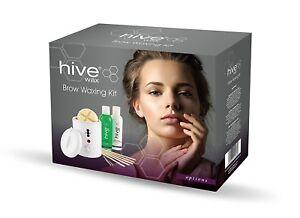 Hive Beauty's Brow Waxing Kit with Petite Wax Heater 200cc