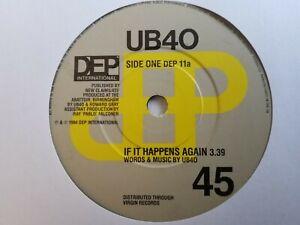 """UB40 - If It Happens Again - 7"""" Vinyl Single"""
