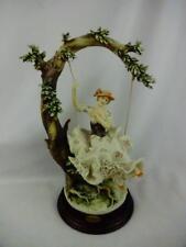 Rare Giuseppe Armani Florence Figurine Young Lady on a Swing 492-C Mint