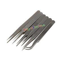 6x Anti-statique brucelles entretien d'accessoires en inox TS10-15
