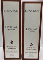 Lanza Healing Volume Thickening Shampoo 10.1oz & Conidtioner 8.5 oz Duo NEW!!