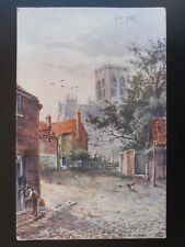 Yorkshire YORK MINISTER Central Tower - Artist T. Guy c1905 by J.W. Ruddock