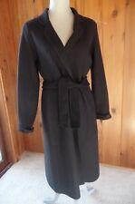 Banana Republic Wool Black Sweater Coat Size M