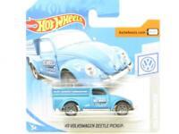 Hotwheels 49 Volkswagen Beetle Pickup 47/250 Short Card 1 64 Scale Sealed New