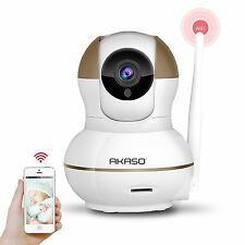 AKASO IP1M-902 720P HD Wireless Network Pan/Tilt Outdoor WiFi IP Security Camera