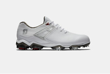 NEW Footjoy Men's Tour X Golf Shoes in White / Red