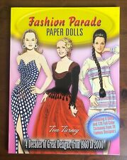 Fashion Parade Paper Dolls Tom Tierney 1960 to 2000 Great Designs Uncut
