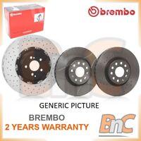 2x BREMBO FRONT BRAKE DISC SET BMW OEM 09917211 34116864905