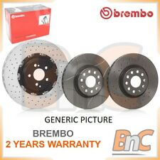 # GENUINE 2X BREMBO HEAVY DUTY FRONT BRAKE DISC SET FOR BMW