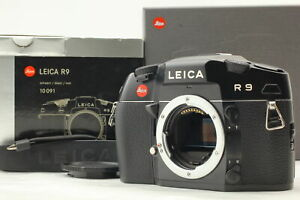 BOXED [Exc+5] Leica R9 35mm SLR Black Film Camera Body Only w/ Strap from JAPAN