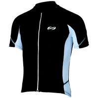 BBB ComfortFit Short Sleeve Cycling Jersey BBW-235 - Black / White
