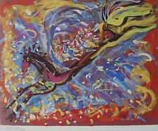 Constantin Terechkovitch Pegasus SIGNED HAND NUMBERED LITHOGRAPH