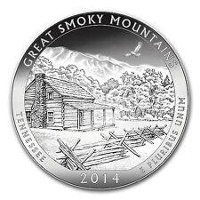 2014 5 oz Silver ATB Great Smoky Mountains National Park, TN - SKU #80979