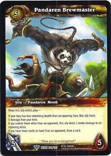 World of Warcraft WOW TCG Reign of Fire: panderan Brewmaster x 3