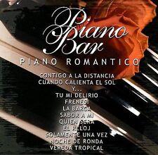 Various Artists Piano Bar: Piano Romantico CD