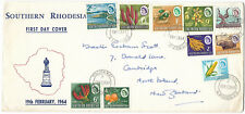 Southern Rhodesia 1964 FDC Definitive Pictorials CAUSEWAY Feb 19