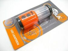 ULTIMATE Survival Technologies UST Orange BRILA Mini Lantern LED Light + BINER!
