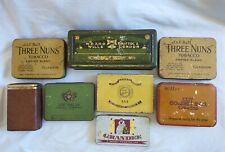 More details for collection of vintage metal cigarette/tobacco tins, three castles, the greys etc
