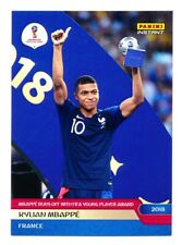 TRÈS RARE ! 2018 Panini Instant World Cup Kylian Mbappe limitée à 630 ex !!!!