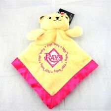 Baby Fanatic Tampa Bay Rays Security Blanket Pink Lovey Mlb Licensed Baseball
